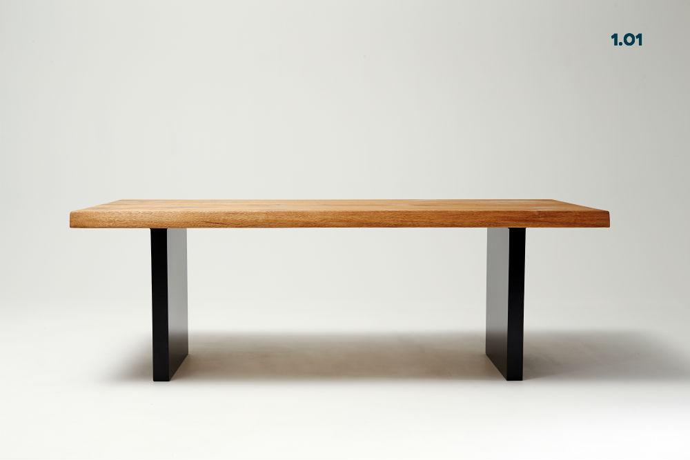 Eichenholztischplatte